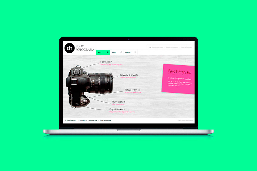 diseño web Edho