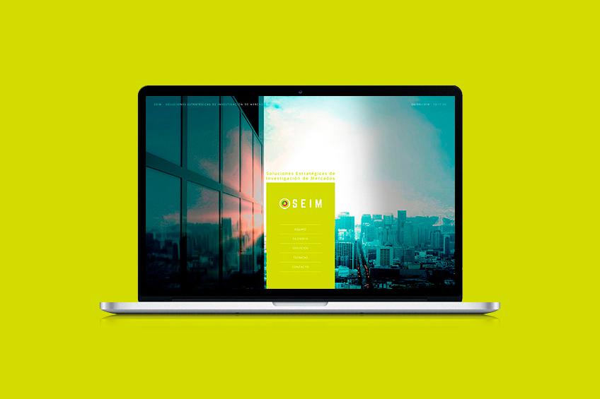 diseño web SEIM