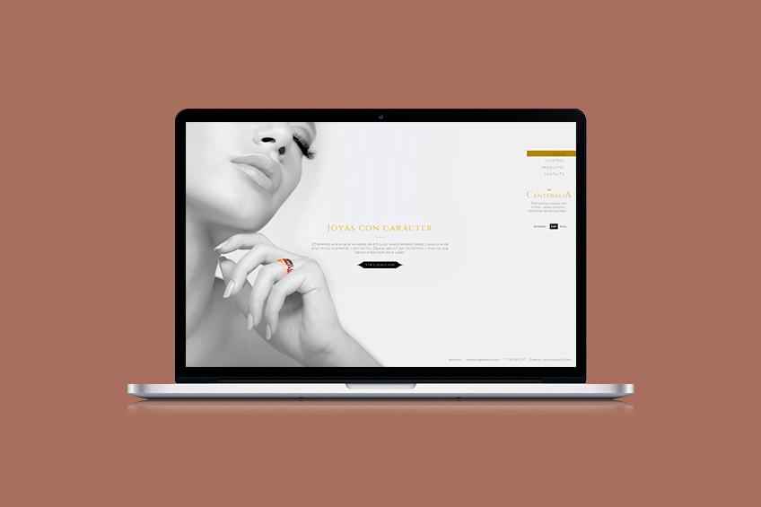 diseño web Centeralia