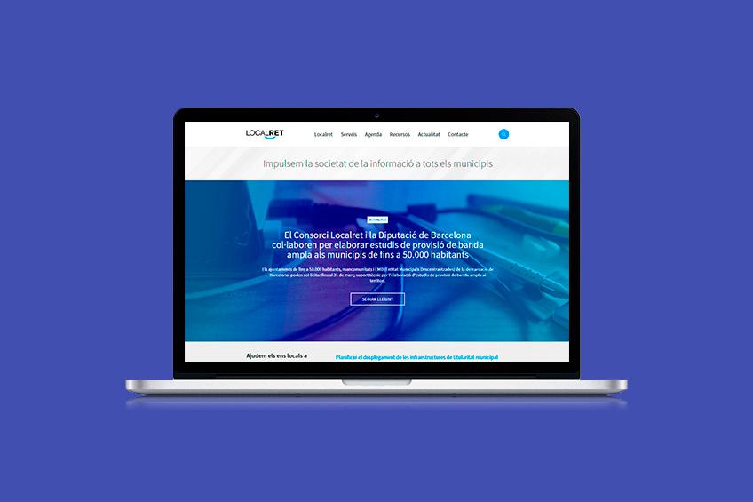 diseño web Localret