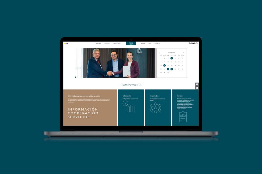 diseño web Alianza de Comercio Ibérico Rusa