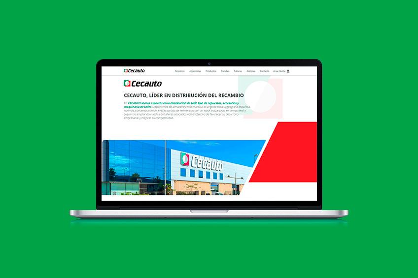 diseño web Cecauto
