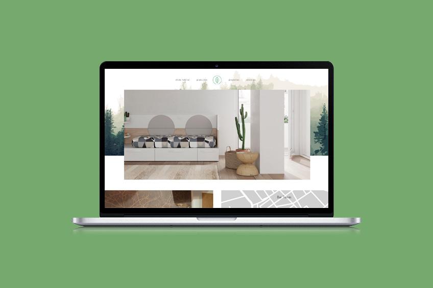diseño web Shido Hàbitat