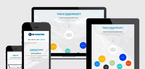 diseño web barcelona 10 responsive