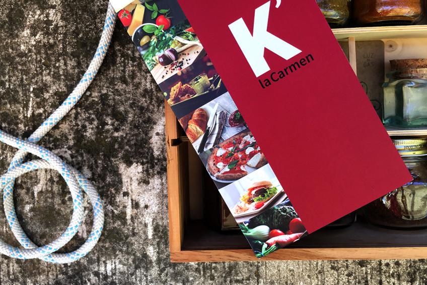 diseño web K'laCarmen
