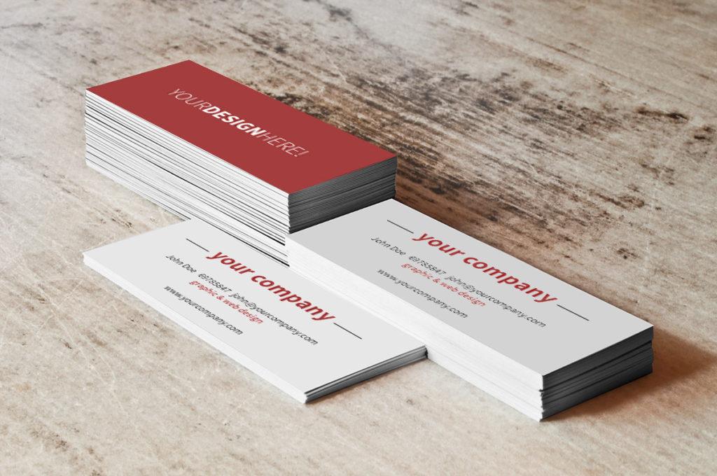 mockup para tarjetas de visita