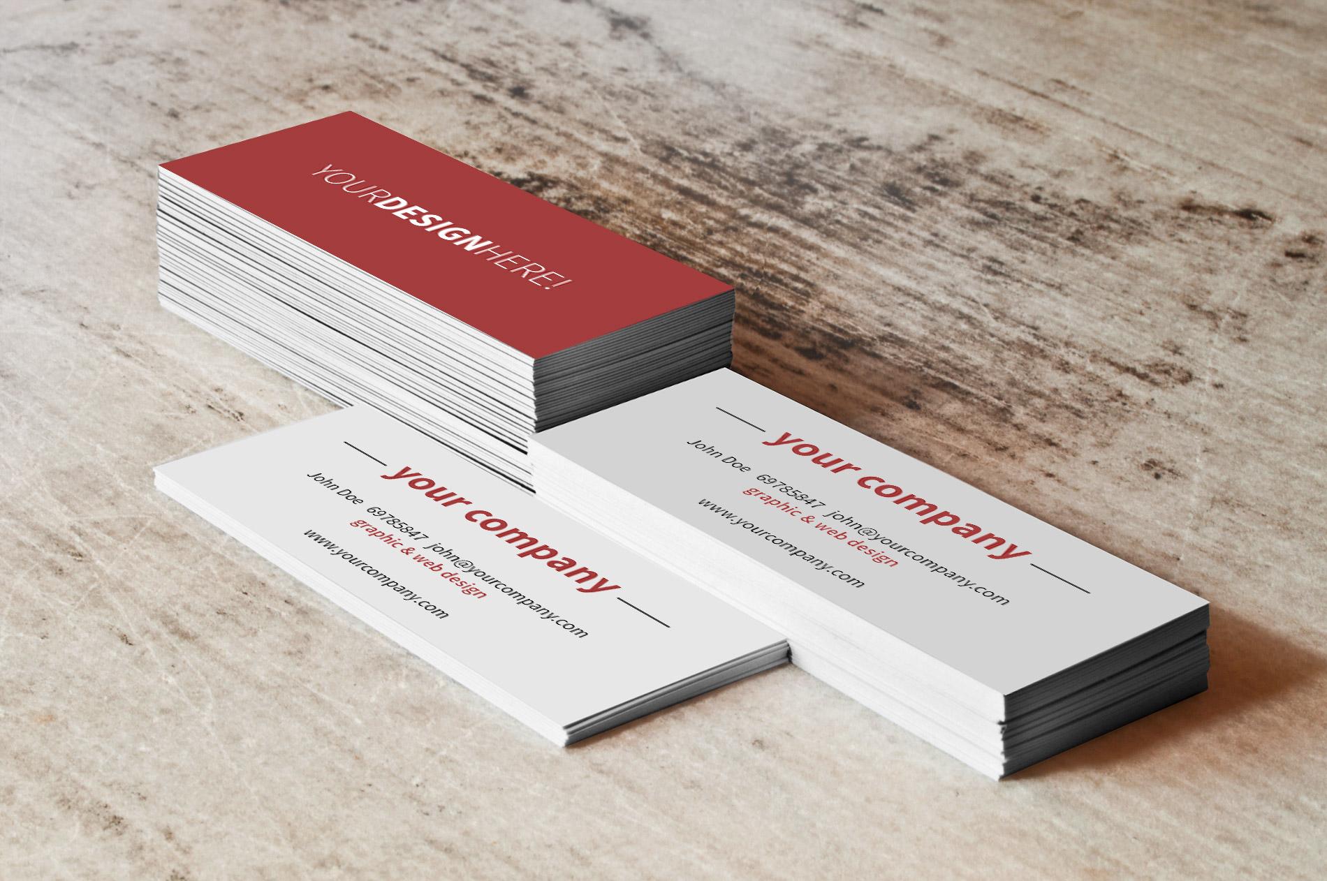 a6a6e39bb78e7 Mockup para tarjetas de visita gratis - Free business cards Mockup
