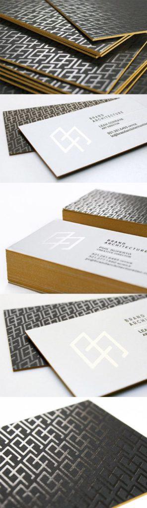 tarjetas de visita para arquitectos 2