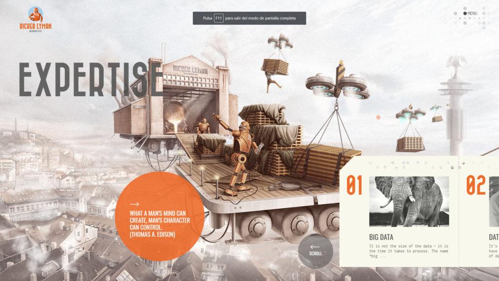 mejores diseños web Julio 2018_ryckerlymanrobotics01