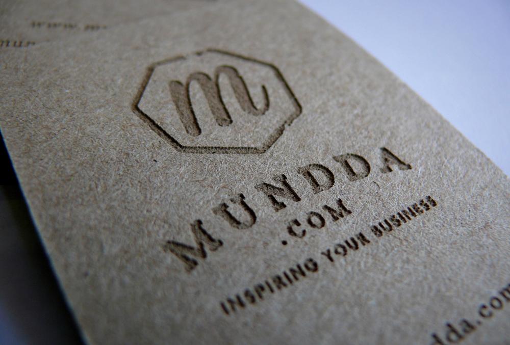 modelos de tarjetas de visita - piedra