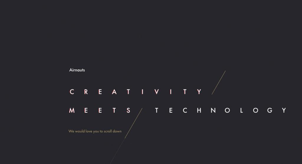 mejores diseños web - aironauts