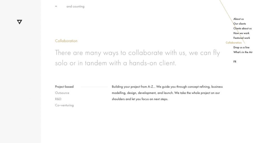 mejores diseños web - aironauts 2