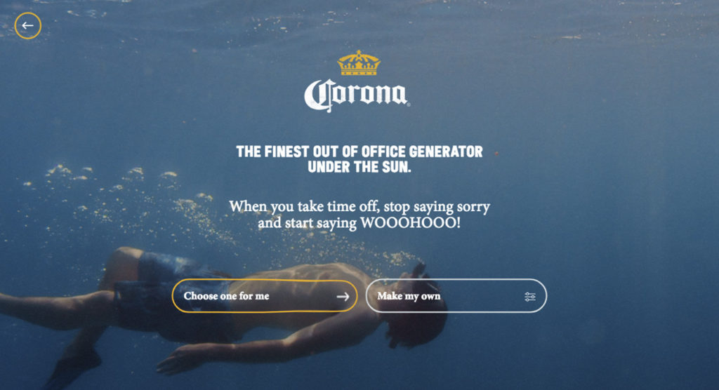 mejores diseños web - corona-wooohooo-interior-3