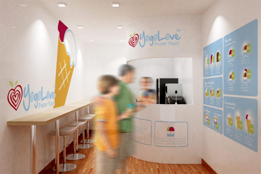 diseño web Yogo Love