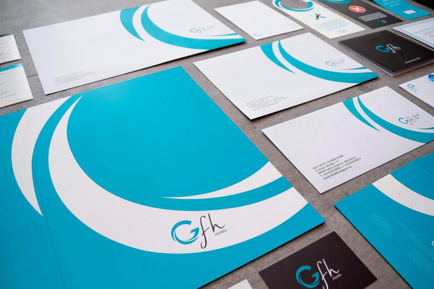 diseño web GFH Hotels