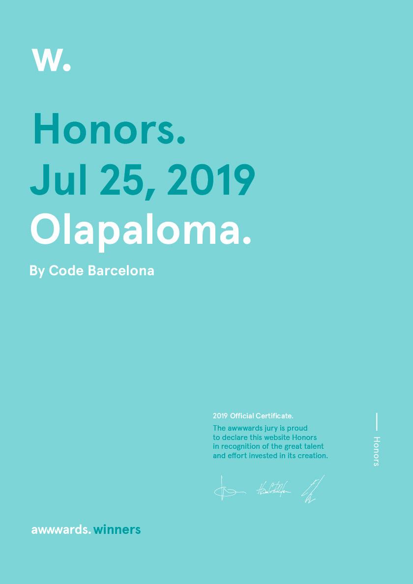 diseño web (Es) Olapaloma